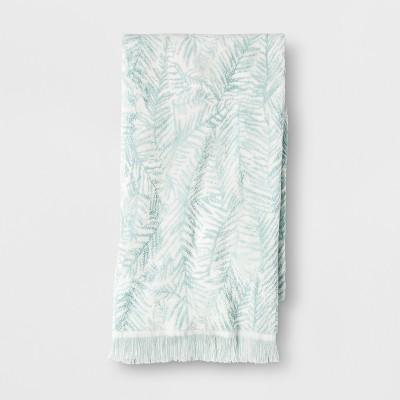 Palm Bath Towel Aqua - Opalhouse™