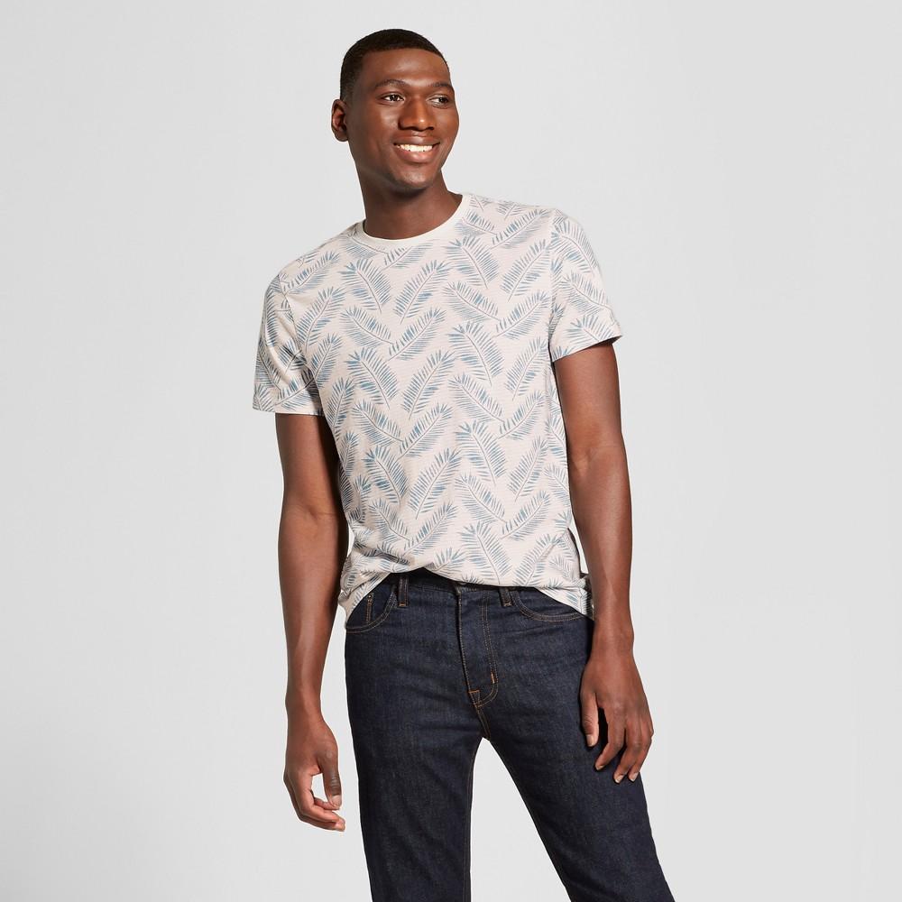 Men's Standard Fit Short Sleeve Crew Neck T-Shirt - Goodfellow & Co Pink Dust L