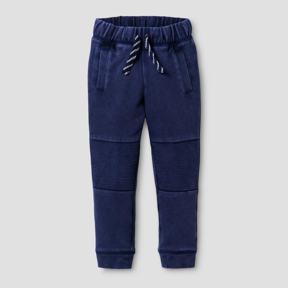 Image of Toddler Boys' Knit Lounge Pants - Cat & Jack Blue 12M, Toddler Boy's