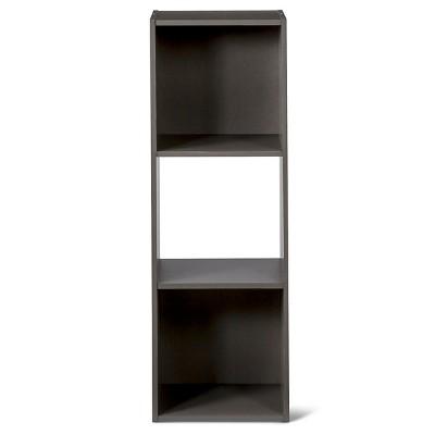 11  3-Cube Organizer Shelf Gray - Room Essentials™