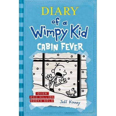 Wimpy Kid Cabin Fever - by Jeff Kinney (Hardcover)