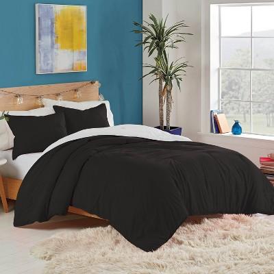 Utica® Solid Reversible Comforter Set