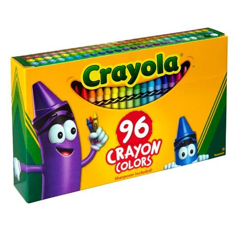 crayola crayons 96ct target