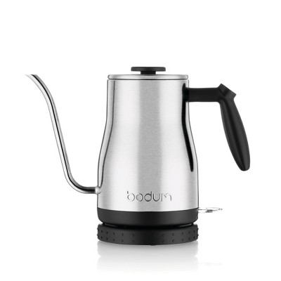 Bodum Goose Neck 34oz Electric Water Kettle - Stainless Steel