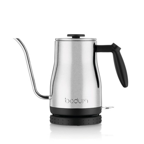 Bodum Goose Neck 34oz Electric Water Kettle - Stainless Steel - image 1 of 4