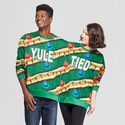 c5ad9b48af77b Men's Long Sleeve Yule Tied Sweatshirt – Forest Green One Size ...