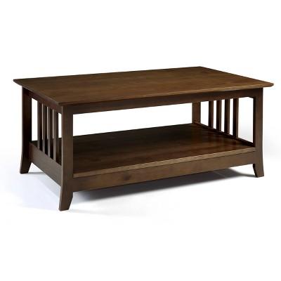 Emerson Coffee Table Brown - Linon
