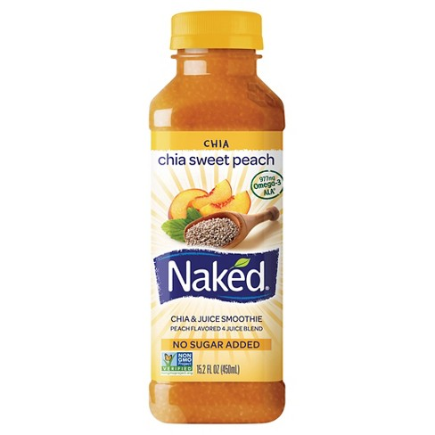Naked Juice Peach Chia 15.2oz - image 1 of 1