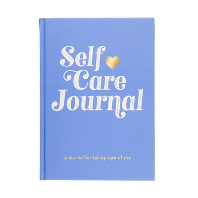 """Eccolo """"7x9"""" Self Care Journal Blue"""
