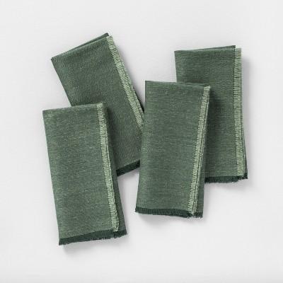 4pk Napkin Set Green - Hearth & Hand™ with Magnolia