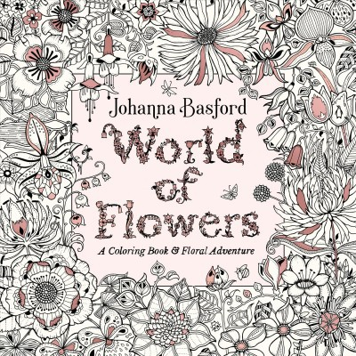 world of flowers a coloring book floral target