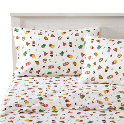 Dining Novelty Printed Sheet Set - Joe Boxer