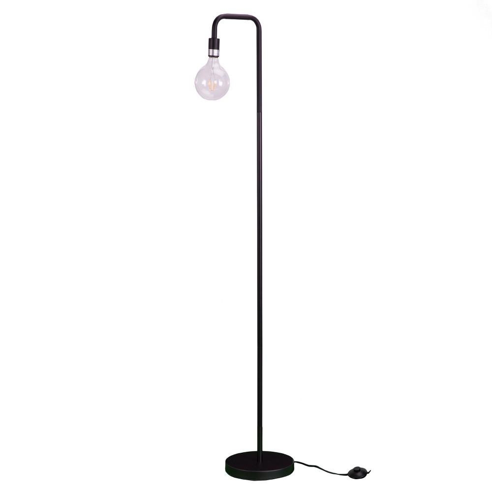 Marillier Floor Lamp Matte Black (Includes Energy Efficient Light Bulb) - Aiden Lane