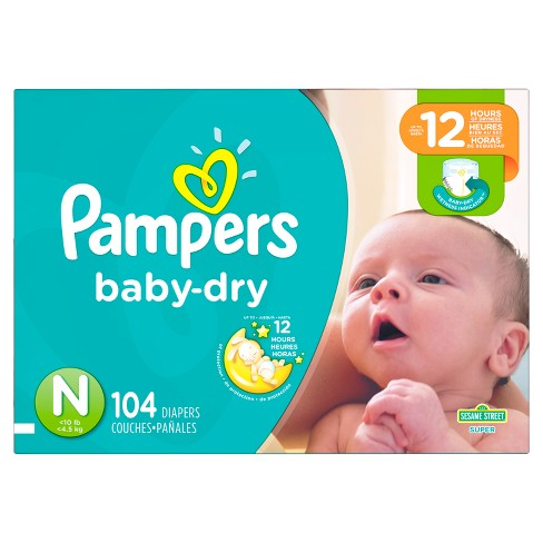 Pampers Baby Dry Diapers Super Pack - image 1 of 4