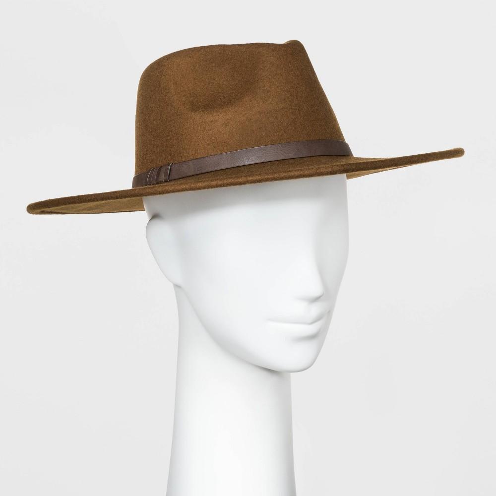 Coupons Women' Wide Brim Felt Fedora Hat - Univeral Thread™