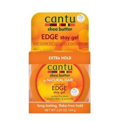 Cantu Extra Hold Edge Stay Gel - 2.25oz