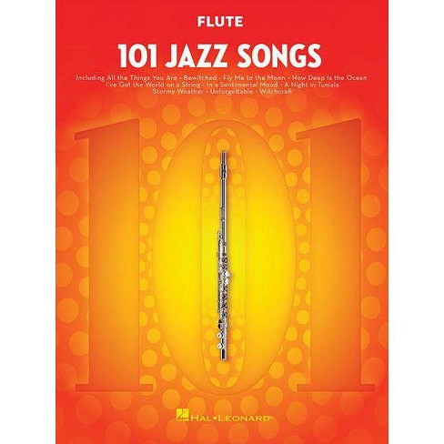 101 Jazz Songs for Flute - (Paperback) - image 1 of 1