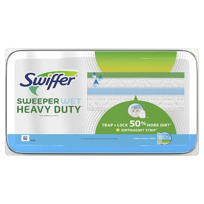 Mops & Accessories: Swiffer Sweeper Wet Heavy Duty Mopping Pad Refills