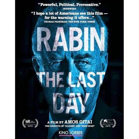 Rabin, The Last Day (Blu-ray) - image 1 of 1