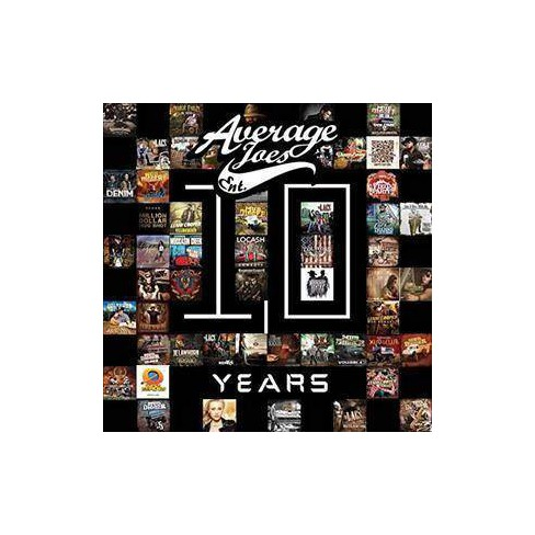 Various - Average Joes: 10 Years (CD) - image 1 of 1