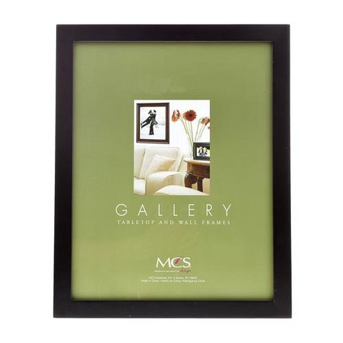 MCS Flat-top Series, Wood Picture Frame for a 16x20  Photograph, 1  Width, Color: Black. - image 1 of 1