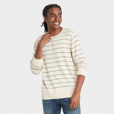Men's Standard Fit Crew Neck Light Weight Pullover Sweater - Goodfellow & Co™
