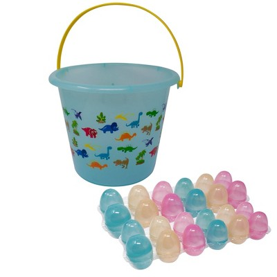 Jumbo Color Changing Easter Bucket Kit Blue and Green