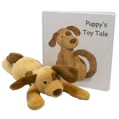 """Mary Meyer Puppy Soft Plush & """"Puppy's Toy Tale"""" Board Book - Plush & Book Set"""