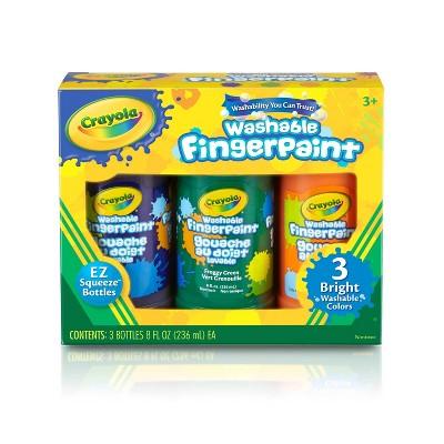 Crayola 3ct Washable Fingerpaints