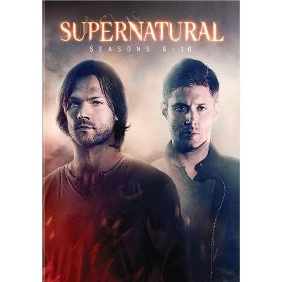 Supernatural: Seasons 6-10 (DVD)(2019)