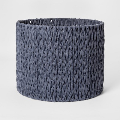 Round Woven Basket Large Blue - Project 62™