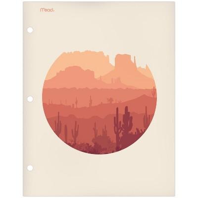 Paper Portfolio 2 Pocket Modern Landscapes Desert - Mead