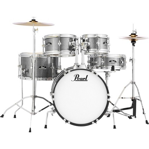 Pearl Roadshow Jr. Drum Set with Hardware and Cymbals - image 1 of 3