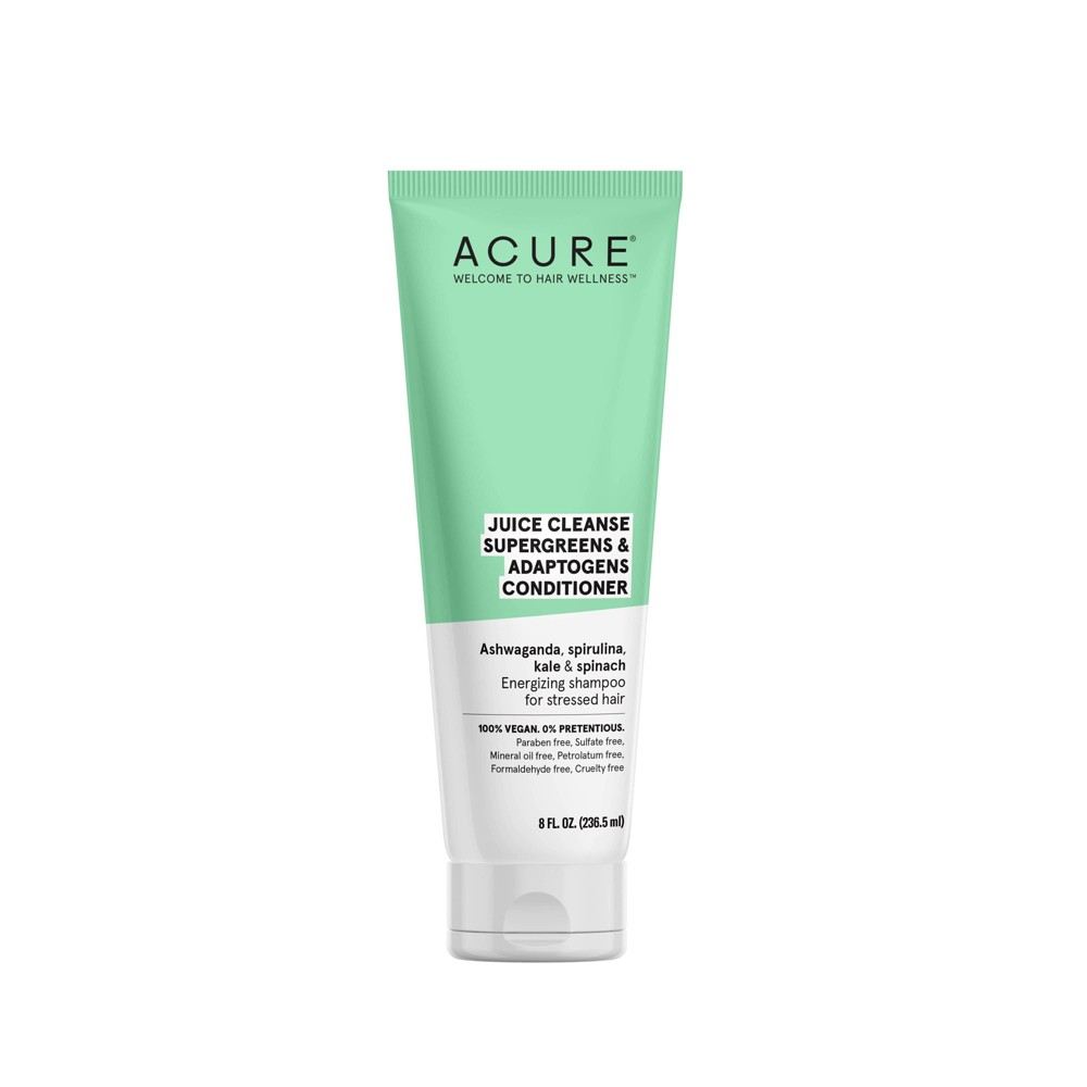 Image of Acure Juice Cleanse Supergreens & Adaptogens Conditioner - 8 fl oz