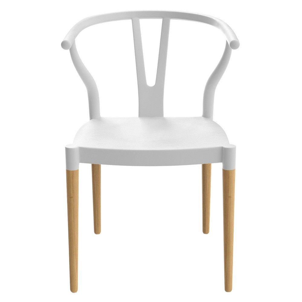 Wexler Dining Chairs - White (Set Of 2) - Aeon