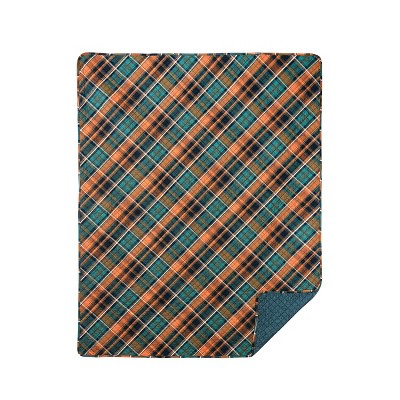 C&F Home Troy Plaid Cotton Quilted Throw