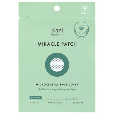 Rael Beauty Miracle Acne Pimple Patch Microcrystal Spot Cover - 9ct