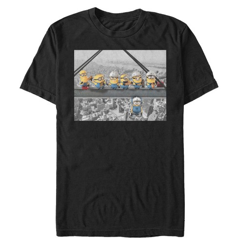 Men's Despicable Me Minion Lunch Hang Out T-Shirt - image 1 of 1