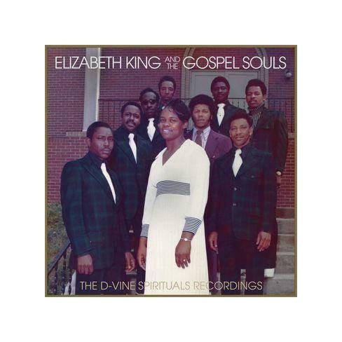 King, Elizabeth & The Gospel Souls - D-Vine Spirituals Recordings (Vinyl) - image 1 of 1