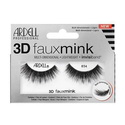 Ardell Eyelashes 3D Faux Mink 854 Lash - 1 Pair
