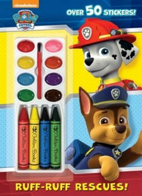 Ruff-Ruff Rescues! ( Paw Patrol) (Mixed media product) by Golden Books Publishing Company