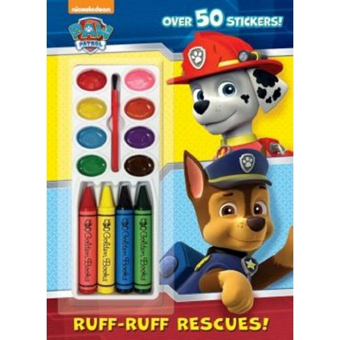Ruff-Ruff Rescues! ( Paw Patrol) (Mixed media product) by Golden Books Publishing Company - image 1 of 1