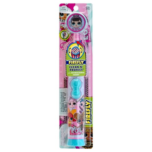 Firefly L.O.L. Surprise! Clean 'N' Protect Toothbrush with Anti-Bacterial Cover - 1ct - image 1 of 2