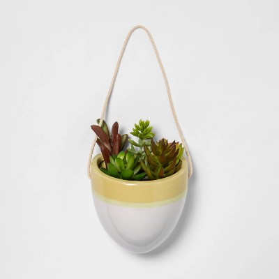 Hanging Wall Planter Green - Opalhouse™