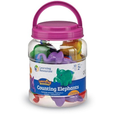 Learning Resources Counting Elephants, Set of 10, Ages 2+