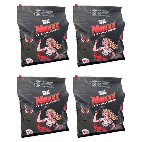 Jealous Devil XL All Natural Hardwood Charcoal Grilling Pillow Briquets, 10 Pound (4 Pack) - image 1 of 4