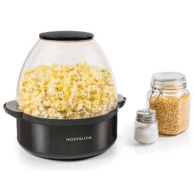 Nostalgia Popcorn Maker SP6BS  - Black