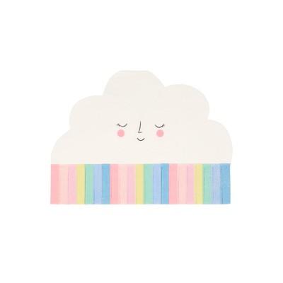 Meri Meri Rainbow Sun Cloud Napkins