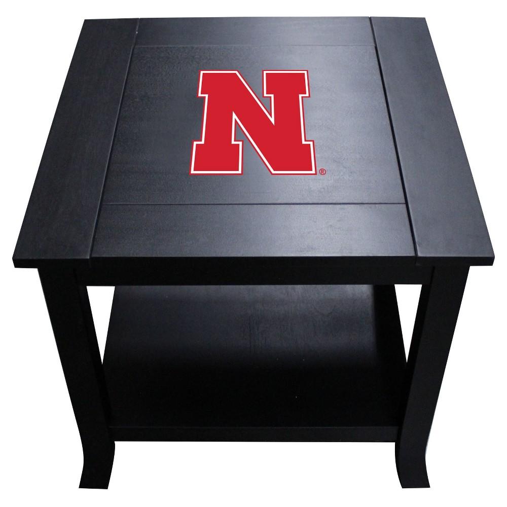 Ncaa Imperial Side Table Nebraska Cornhuskers