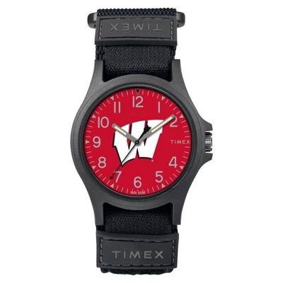 NCAA Wisconsin Badgers Men's  Tribute Collection Pride Watch